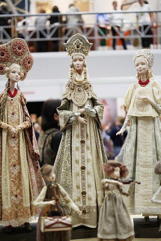 Международная выставка кукол XI Салон в Москве сквозь объектив фотоаппарата