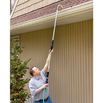 Telescoping Gutter Cleaner -$27.95- Safely Clean Gutters ...