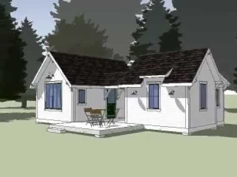 24 best prefab images on pinterest small houses small for Pre built garden rooms