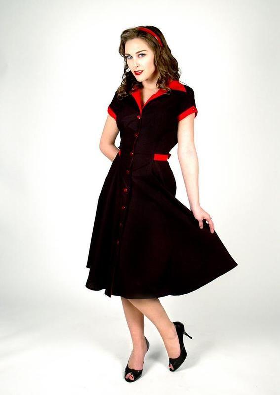 48 best pinup dresses images on pinterest fashion