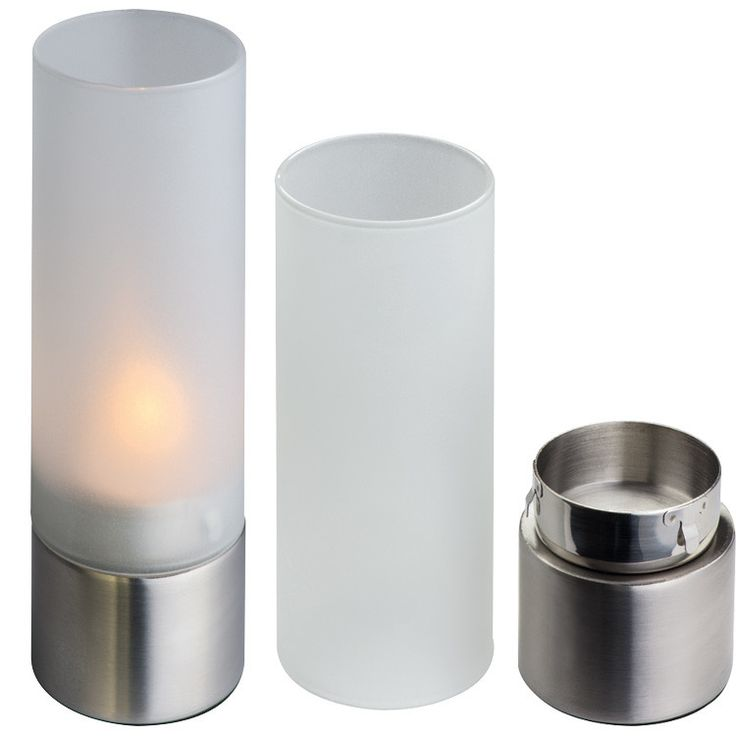 Soporte para velas fabricado con cristal y metal las - Soporte para velas ...