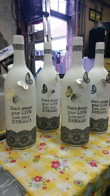 Fles versieren