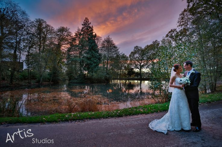 Sunset Wedding Photography - Coworth Park, Ascot
