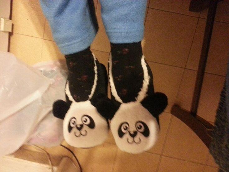 Ciabattine panda!