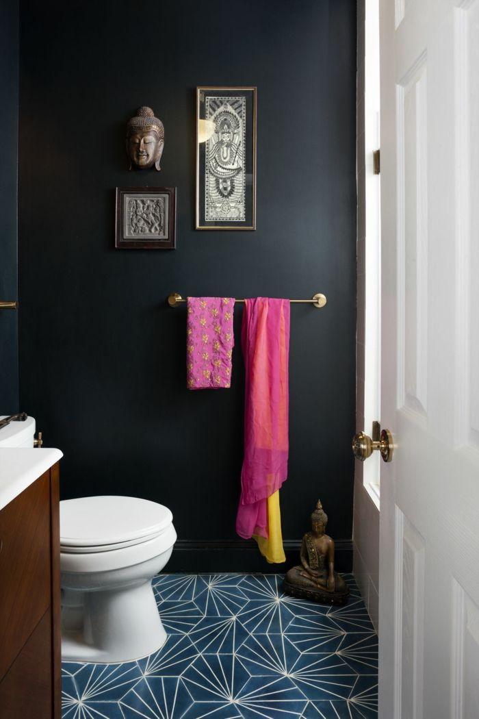 ▷ 1001 + idées pour une peinture pour toilettes chic et ...