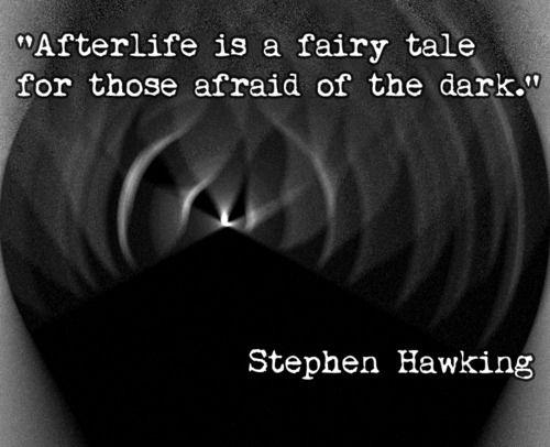 Stephen Hawking isn't afraid to tell it like it is.