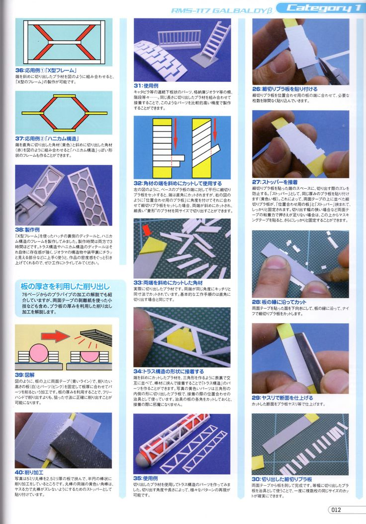 Gundam Scratch Build Manual 2 | Ani-mei.com