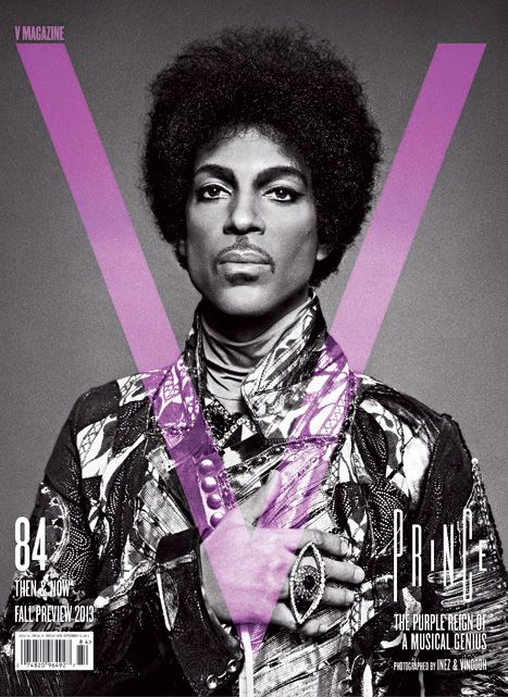 Loving the Prince V Mag cover! Photo by Inez and Vinoodh