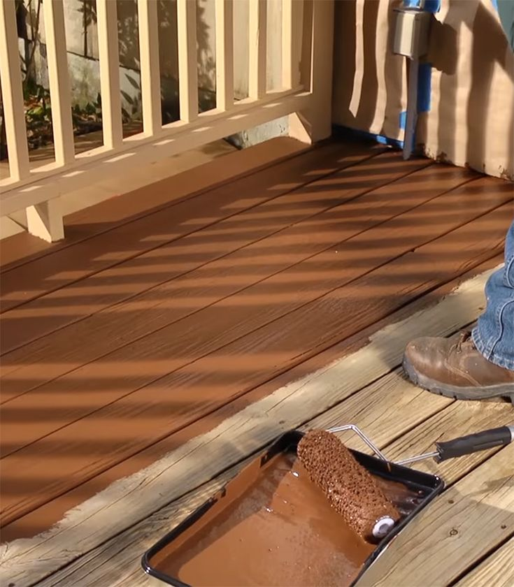 Deck Over Paint Lowes Red Remove
