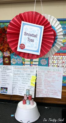 One Thrifty Chick: Walking in a Winter Wonderland { First Grade Style }