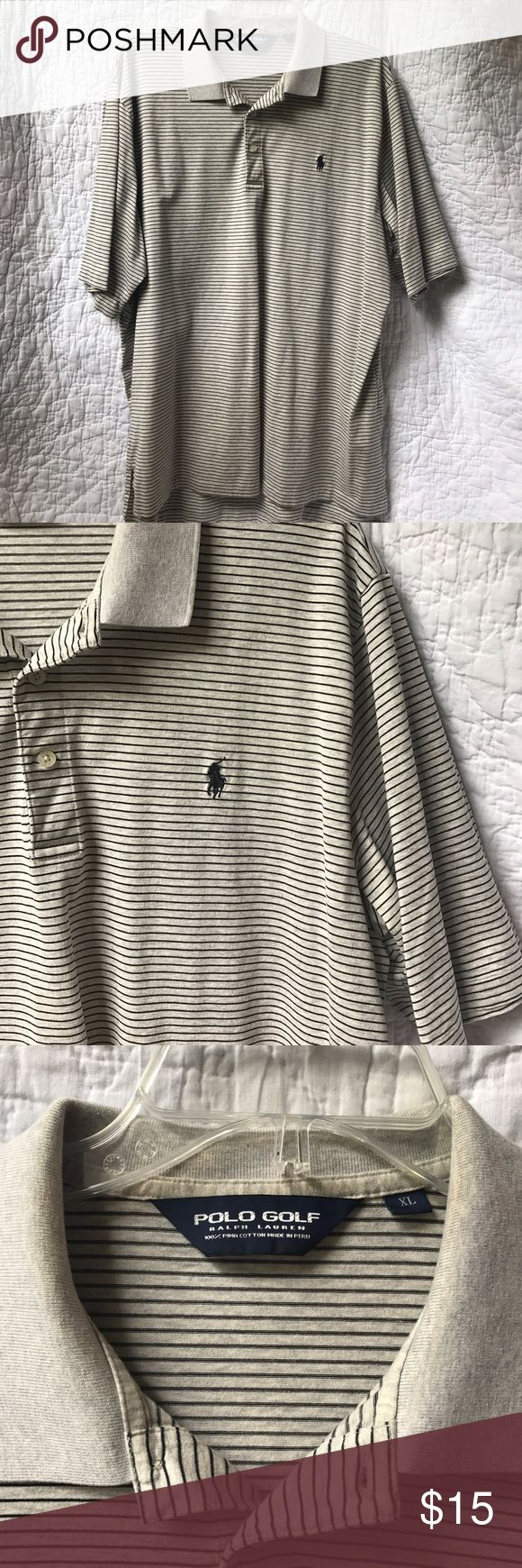 Ralph Lauren Polo Golf Shirt •Ralph Lauren •Polo Golf Shirt •Men's Size XL •Minor Discoloration on Inside of Collar Polo By Ralph Lauren Shirts Polos