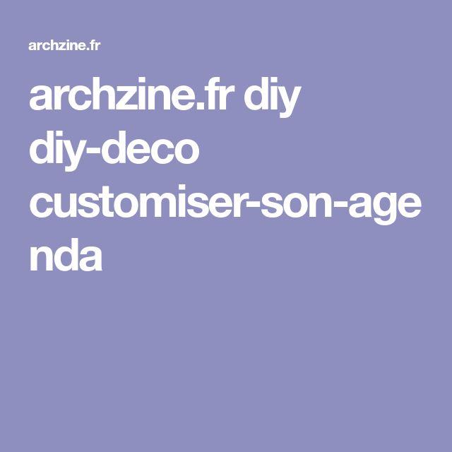 archzine.fr diy diy-deco customiser-son-agenda