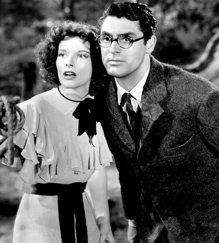 Bringing up Baby - Katharine Hepburn and Cary Grant