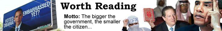 Worth Reading: The bigger the govt. the smaller the citizen. #conservative #news #politics #blog