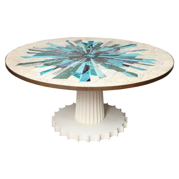 1000 Ideas About Mosaic Tile Table On Pinterest