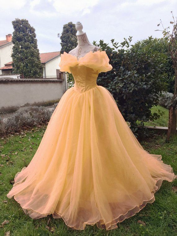 40d255c26 Princess Belle Gown - Beauty and the Beast Costume Ball Dress in ...