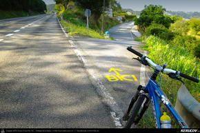 Traseu cu bicicleta MTB XC El Camino de Santiago del Norte - 6: Gijon - Aviles - Salinas - Concha - Soto De Luina . MTB Ride El Camino de Santiago del Norte - 6: Gijon - Aviles - Salinas - Concha - Soto De Luina - Asturia, Spania