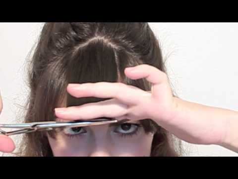 Coupe tes cheveux et ta frange toi même ! - #fringe #frange #hairstyle