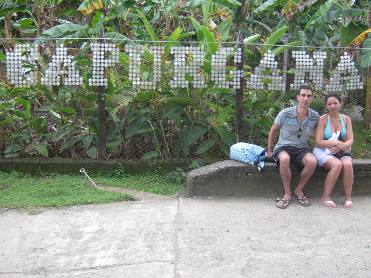 Turistas españoles en capurgana