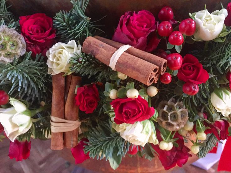 Christmas fleurs Trikala