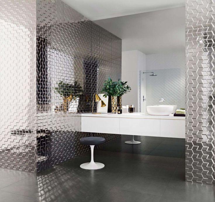 Unique Ceramic Tiling A Bathroom Floor