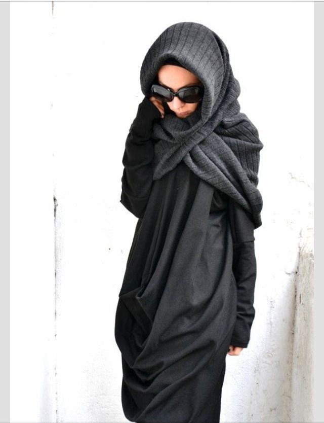 All bundled up. #hijab