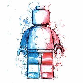 studiogal | Blog DRAPEAU FRANCE BLEU BLANC ROUGE LEGO