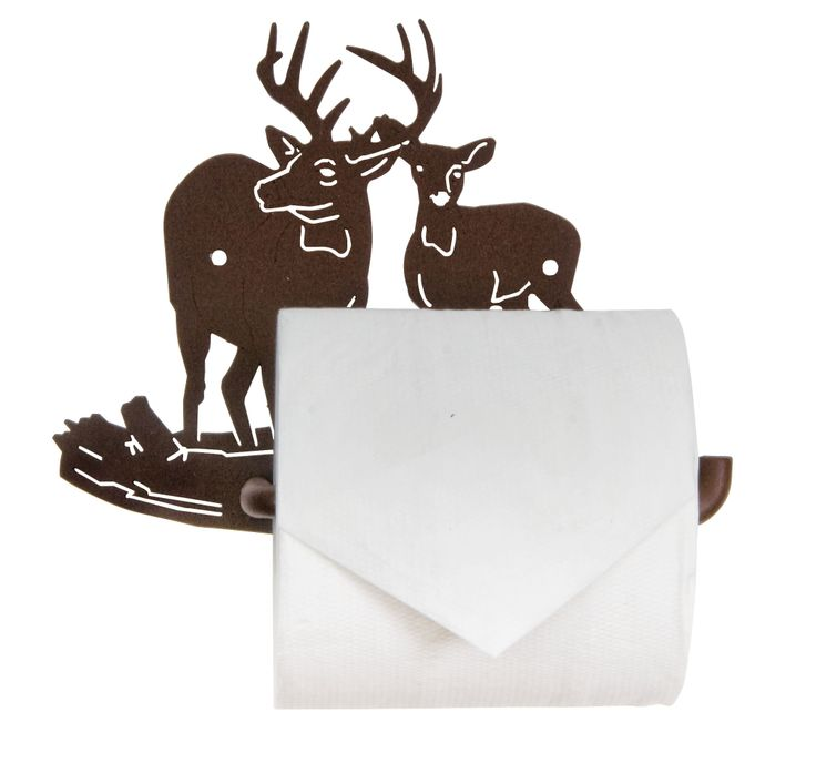 Buck And Doe Tissue Holder