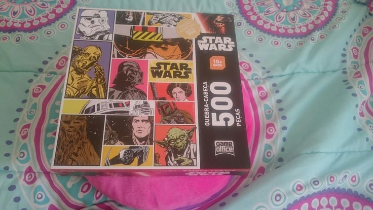 Edição  especial  star wars  quebra cabeça  500 peças