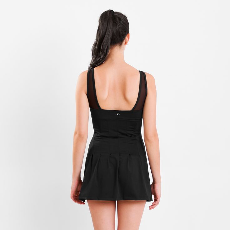 Vestido Abril visto de espalda. Para más detalles: http://www.tiendascrubs.com.ar/vestidos/vestido-abril/
