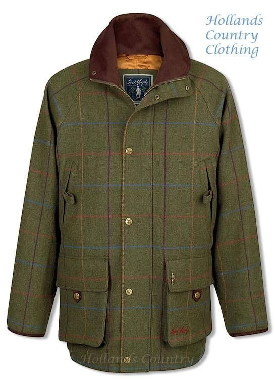 Jack Murphy Tomas Tweed Shooting Jacket for Holland's Country Clothing – Hollands Country Clothing