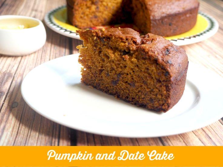 Pumpkin and Date Cake
