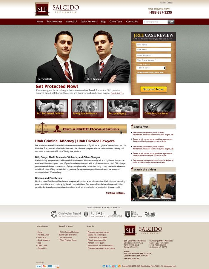 22 Law Firm Websites For Your Inspiration
