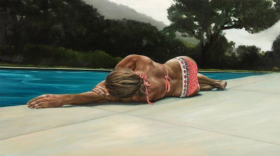 Atrractive Summer Paintings by Eric Zener