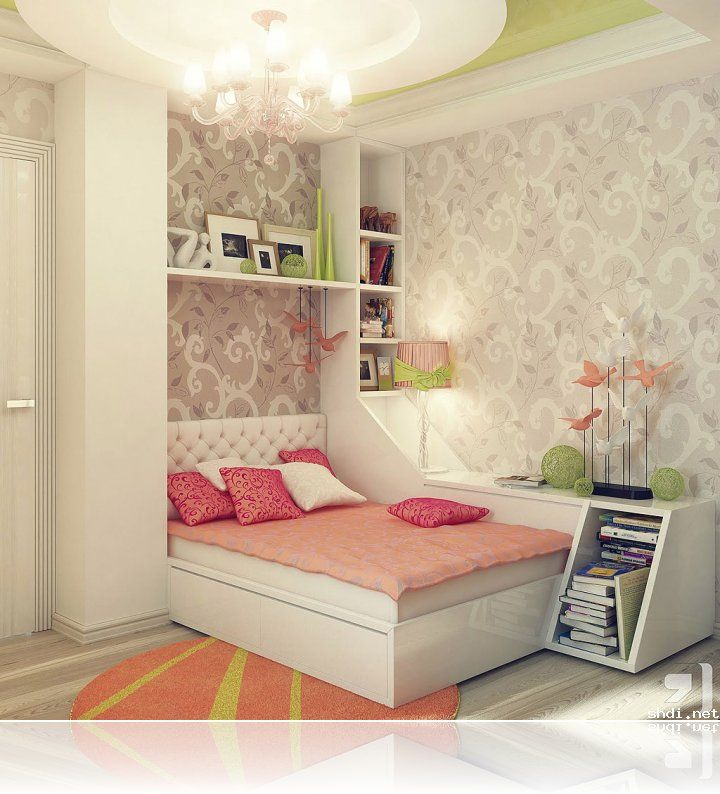 Home Design Ideas Easy: Small Bedroom Decorating Ideas