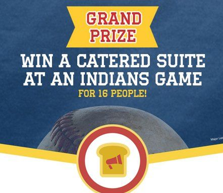 Win a Suite Tickets for Cleveland Indians Home Game scheduled for 9/10/17 at Progressive Field, and Parking Passes. $4,000.00 value!    Get your entry in now!