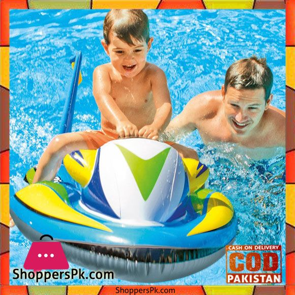 Buy Intex Wave Rider Ride On Inflatable Scooter 3 8 Feet X 2 5 Feet 57520 At Best Price In Pakistan Swimming Pool Toys Kids Swimming Inflatable Pool Toys