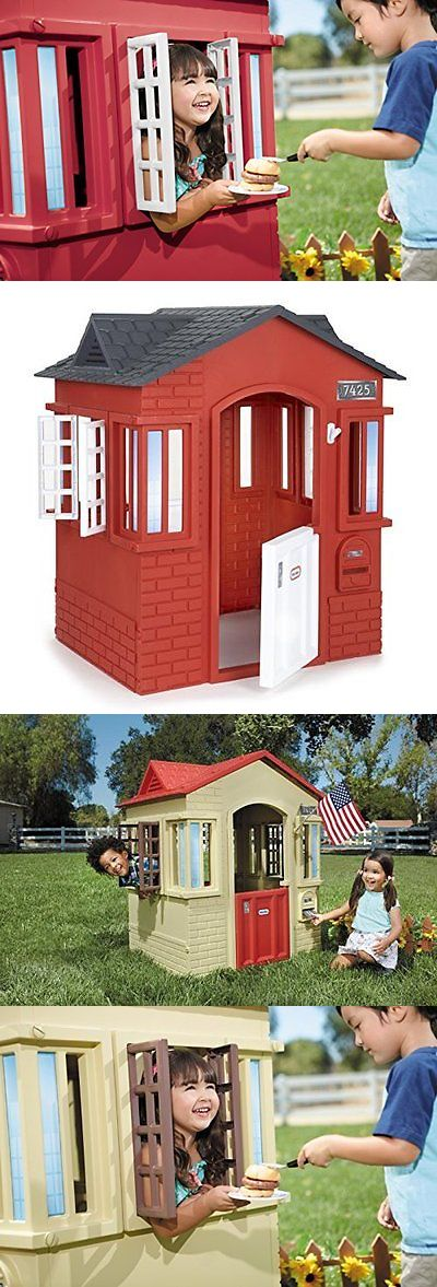 Permanent Playhouses 145995: Little Tikes Cape Cottage Red -> BUY IT NOW ONLY: $179.79 on eBay!