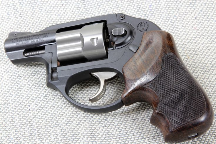 Eagle Secret Service Rosewood Grips For Ruger Lcr