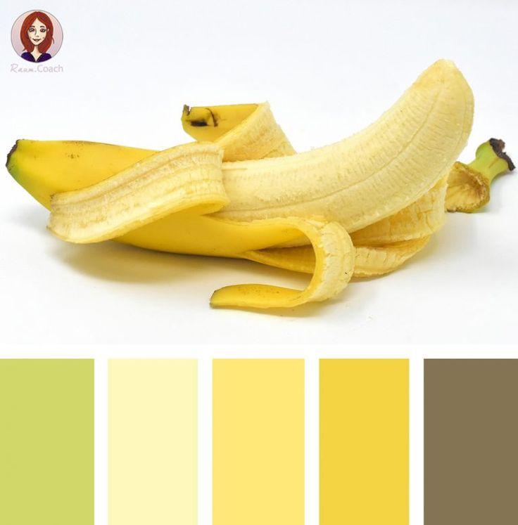 Farbpalette Wand: 18 Farbkombinationen Aus Der Natur • Fruchtige Farben Für