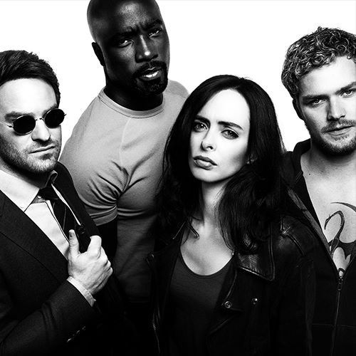 Marvel's The Defenders - Daredevil, Luke Cage, Jessica Jones & Iron Fist