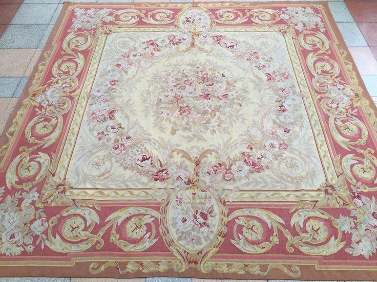 Tapis ancien Aubusson Carpets Antique Aubusson tappeto