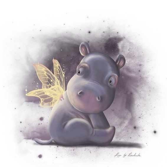 Hippo Art Images: 88 Best Images About I Want A Hippopotamus For Christmas