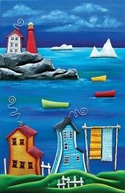 Cara's joy-Newfoundland Artist....I love the colors this artist used