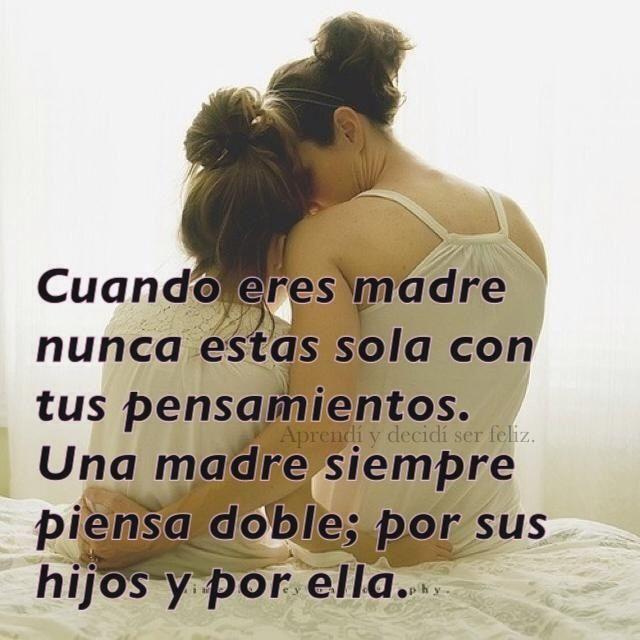 Citaciones Del Amor Para La Madre Frases Amor De Madre Amor Y Mama