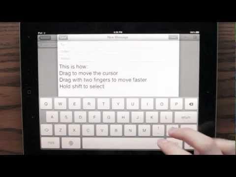 iPad Keyboard Prototype. Brilliant.