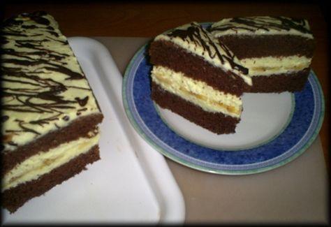Kakaový rez s vynikajúcim tvarohovým krémom (fotorecept) - obrázok 10