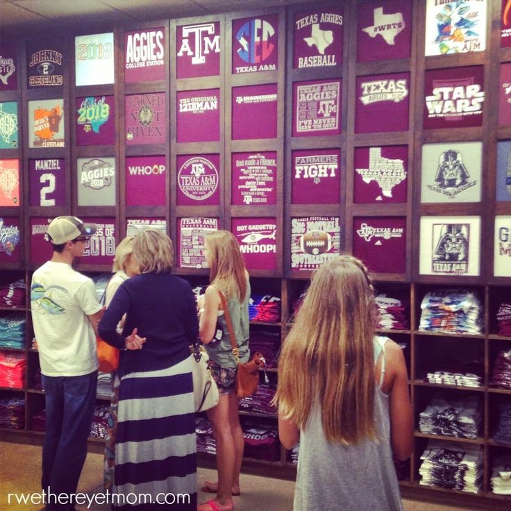 5 Fun Things to do in Bryan-College Station, Texas - R We There Yet Mom? | Family Travel for Texas and beyond...  Aggie Outfitters