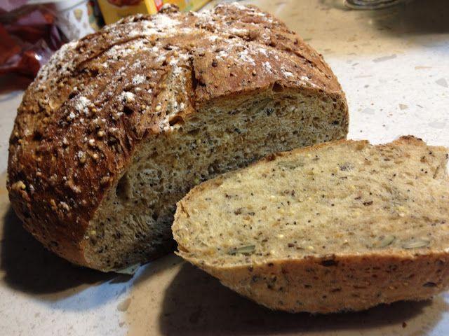 L'apprentie boulangère qui est en moi... ou comment j'ai fait un pain aux céréales ?