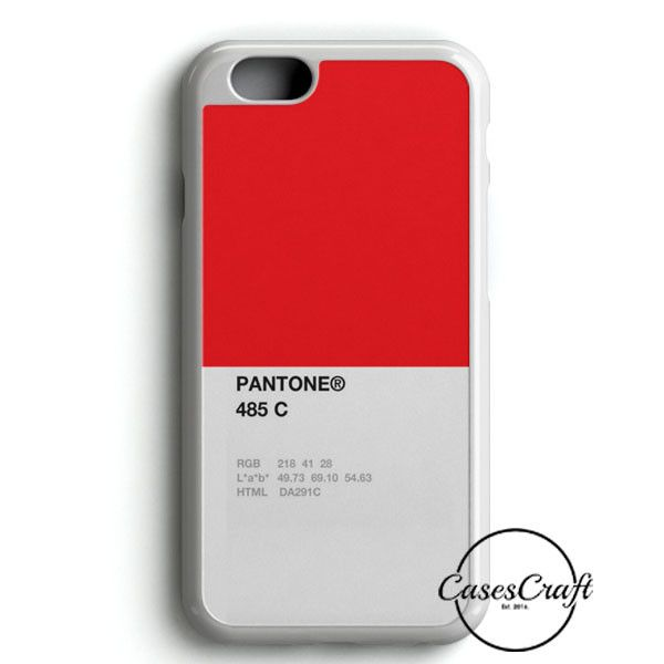 Pantone 485 C iPhone 6/6S Case | casescraft